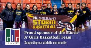 Hesquiath Storm Jr. Girl's Basketball